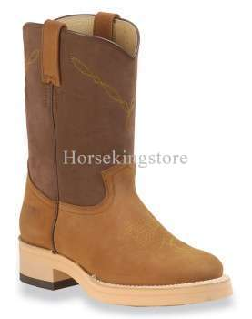 Western Boots Lakota Roper