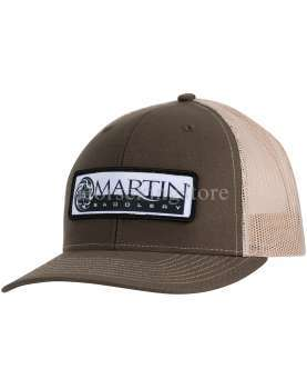 Martin Saddlery Caps Large Patch Logo BROWN /...