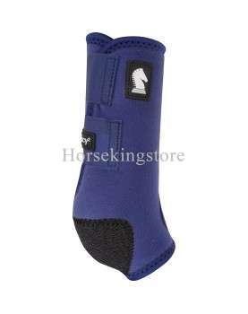 Legacy2 Front - Solid Classic Equine Navy Blue