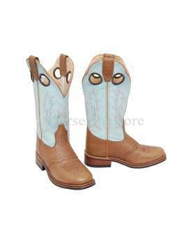 Western Woman Boots Pool's Blue Sky