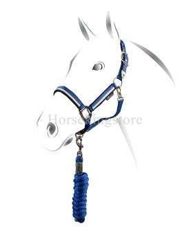 Licol en nylon réglable Equestro