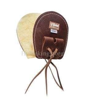 Protection de boucle de sangle en cuir Cashel