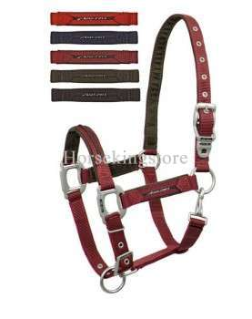 Halter with leather and lead Lamicelle Jaguar Collection
